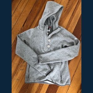 Excellent North Face pullover hoodie jacket XS